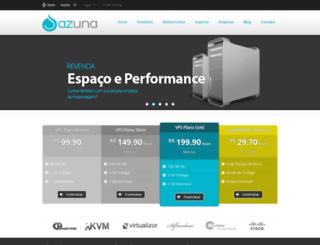 azuna.com.br screenshot