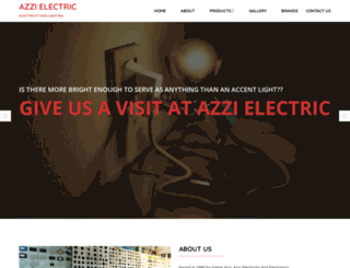 azzi-electric.com screenshot