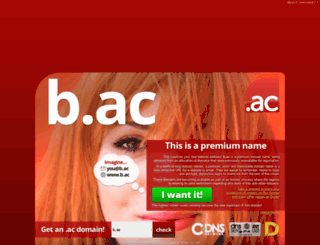 b.ac screenshot