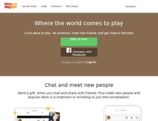 b.mig33.com screenshot