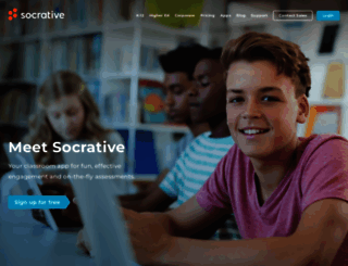 b.socrative.com screenshot