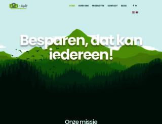 b2b-light.nl screenshot