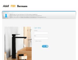 b2b.adell.com screenshot