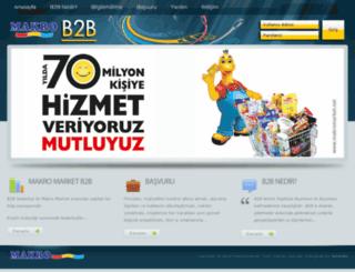 b2b.makromarket.net screenshot