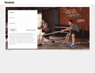 b2b.reebok.com screenshot
