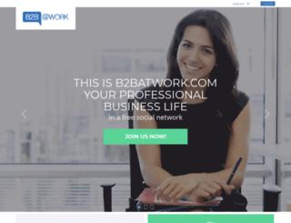 b2batwork.com screenshot