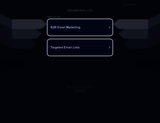 b2boptinlists.com screenshot