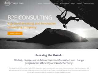b2e-resourcing.com screenshot