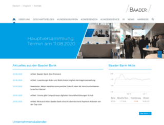 baadermarkets.de screenshot