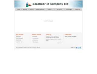 baaskaar.com screenshot