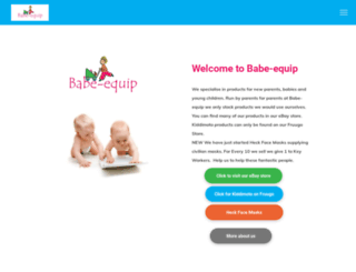 babe-equip.co.uk screenshot