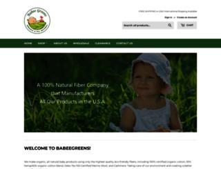 babeegreens.com screenshot