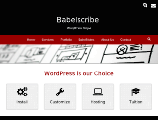 babelscribe.co.nz screenshot