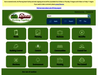 babergh.gov.uk screenshot