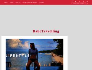 babetravelling.com screenshot