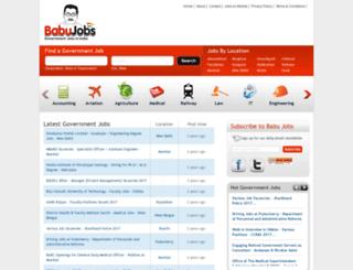 babujobs.com screenshot