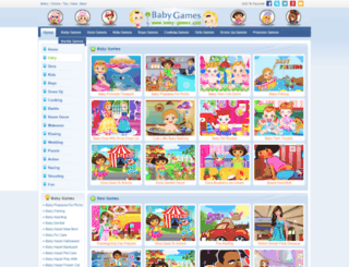 baby-games.com screenshot