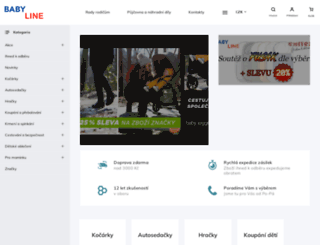 baby-line.cz screenshot