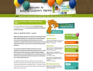 babyandchildrensmarket.co.uk screenshot
