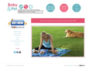 babyandpet.com.au screenshot