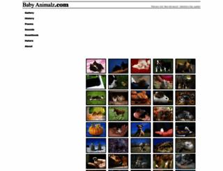 babyanimalz.com screenshot