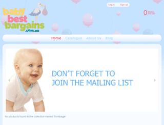 babybestbargains.com.au screenshot
