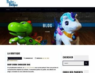 babybidou.com screenshot