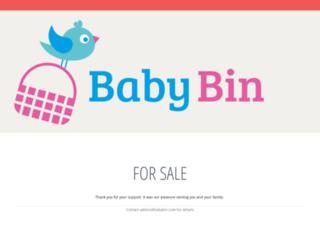 babybin.com screenshot