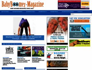 babyboomer-magazine.com screenshot