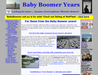 babyboomer.net.au screenshot