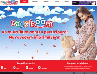 babyboomshow.ro screenshot