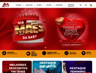 babycalcados.com.br screenshot