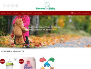babycareanswer.com screenshot