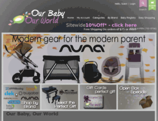 babycatalog.com screenshot