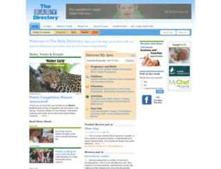 babydirectory.com screenshot