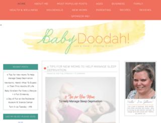 babydoodah.com screenshot