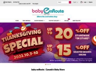 babyenroute.ca screenshot