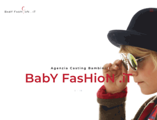 babyfashion.it screenshot