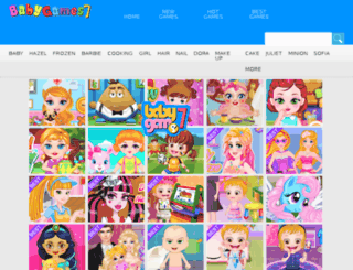 babyhazelgames.org screenshot