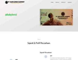 babylonish.com screenshot