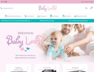 babylurve.co.uk screenshot