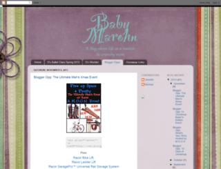 babymarohnbloggeropps.blogspot.com screenshot
