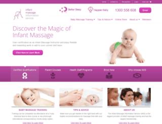 babymassage.net.au screenshot