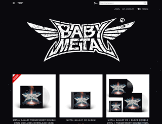 babymetal.tmstor.es screenshot