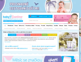 babyonline.cz screenshot