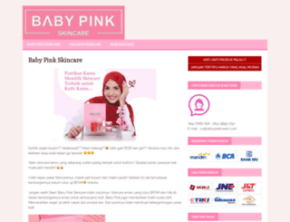babypinkcream.com screenshot
