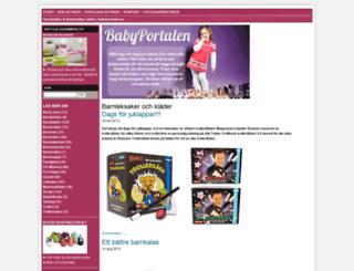 babyportalen.se screenshot
