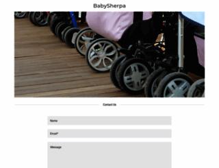 babysherpa.com screenshot
