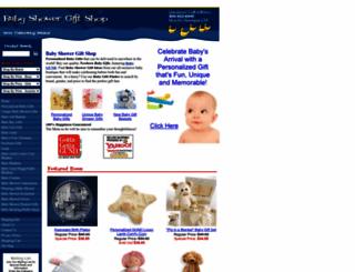 babyshowergiftshop.com screenshot