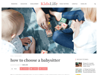 babysittersandmore.com.au screenshot